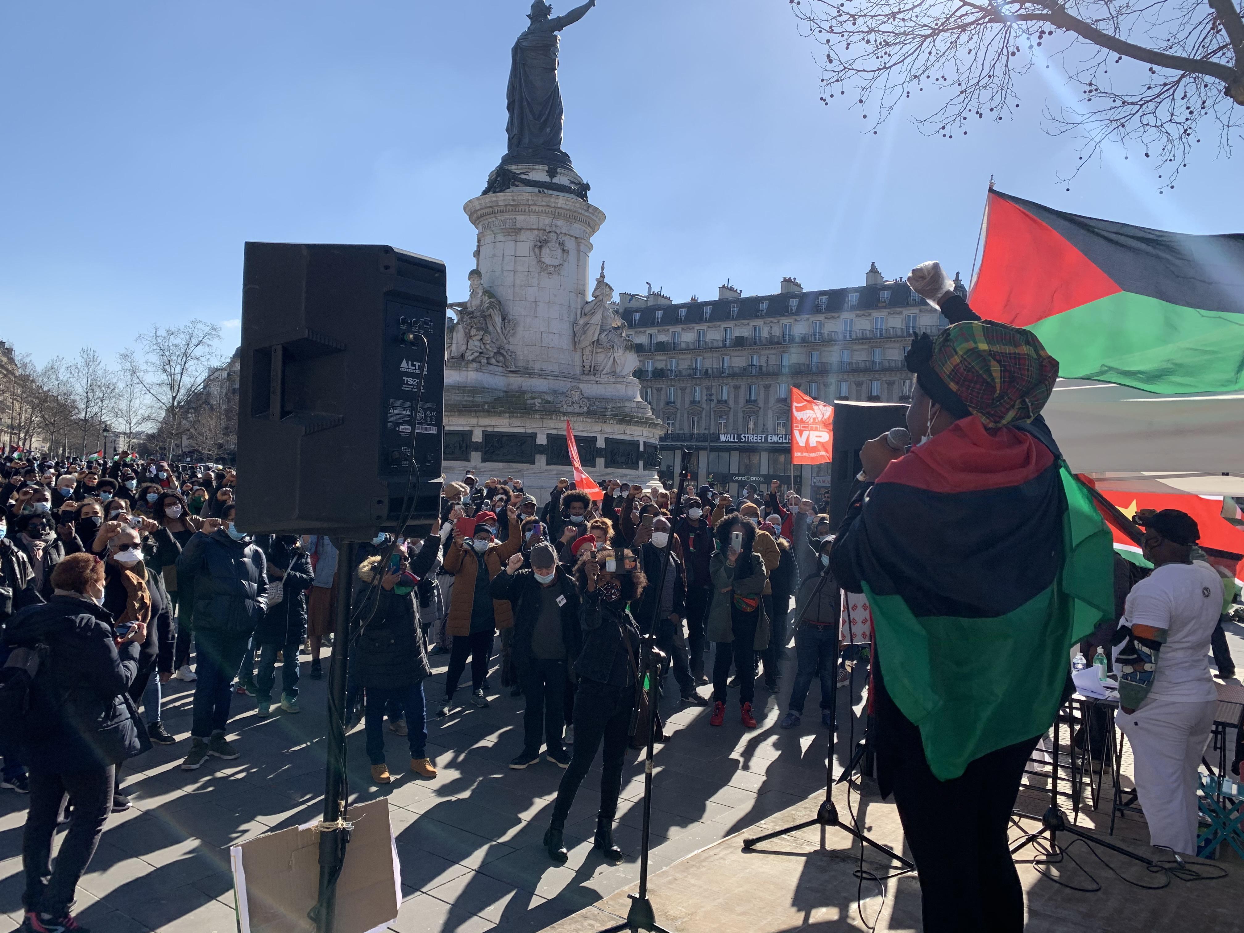 Chlordécone : la mobilisation a aussi eu lieu à Paris