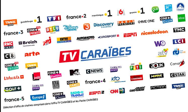 Un nouveau bouquet TV par satellite aux Antilles-Guyane