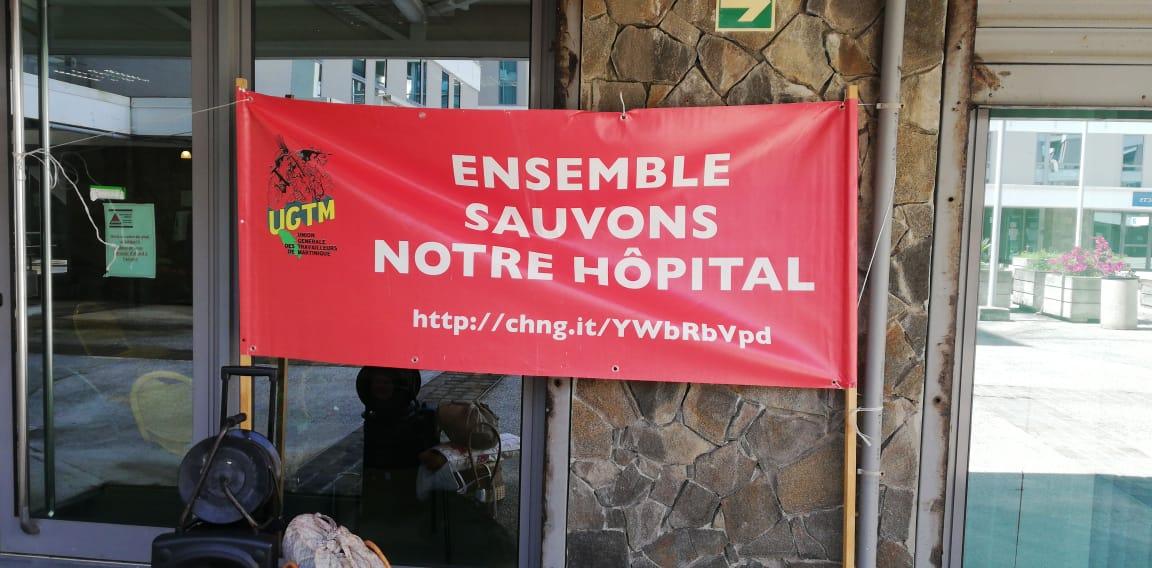 Hôpital de Trinité : cinq représentants de l'UGTM Santé reçus à l'ARS