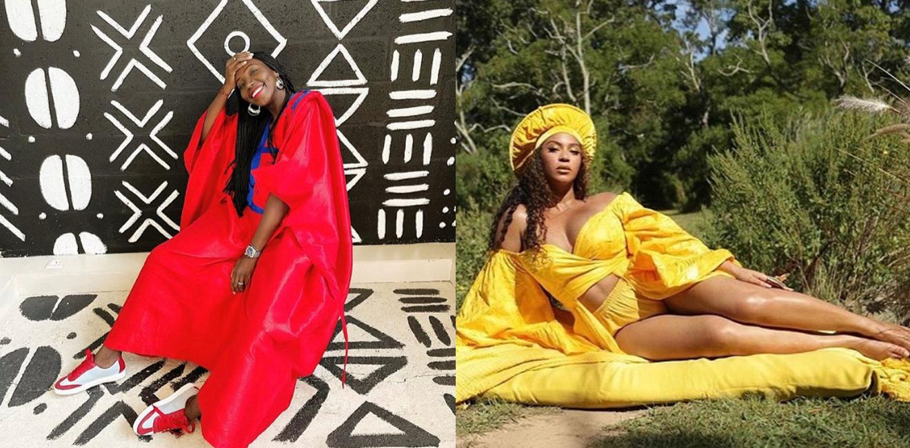La créatrice franco-sénégalaise Adama Paris habille Beyoncé