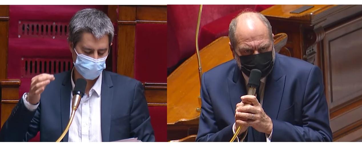 [VIDEO] Chlordécone : le ministre Eric Dupond-Moretti refuse de répondre à François Ruffin