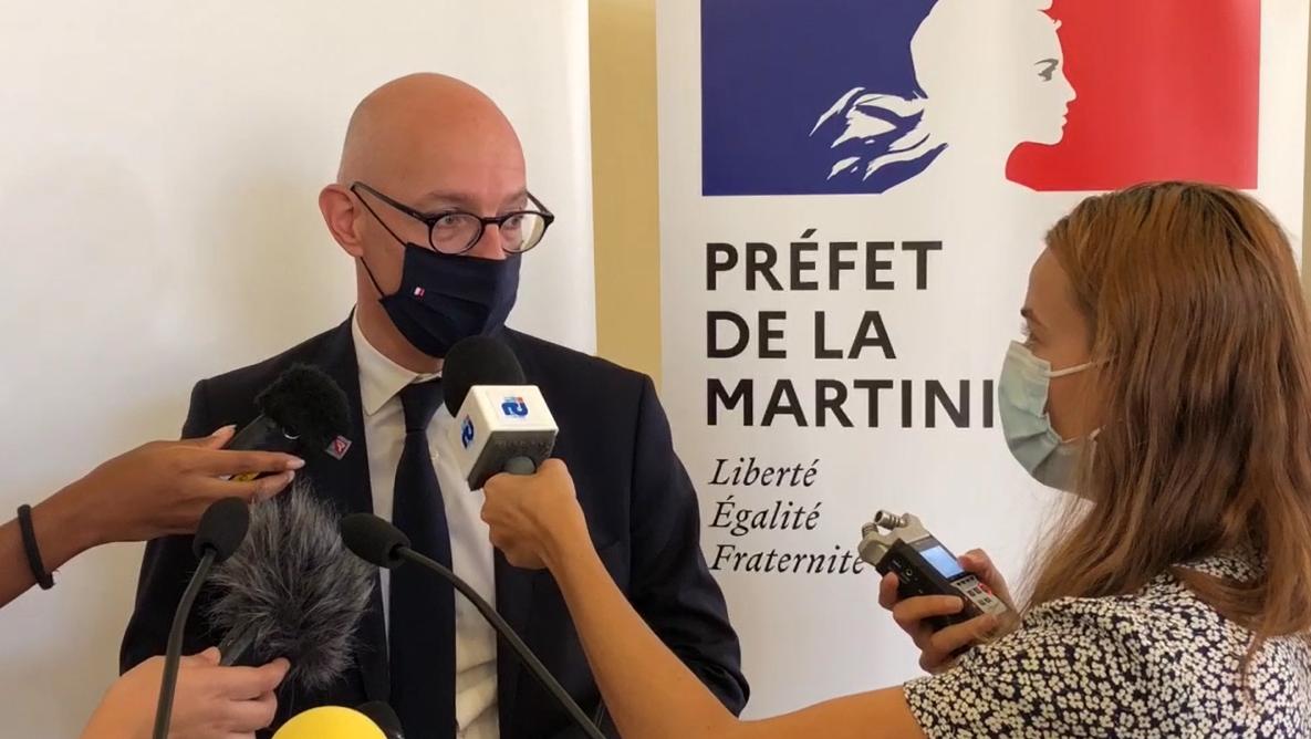 [DIRECT] Suivez en direct l'allocution du préfet de la Martinique sur les mesures sanitaires
