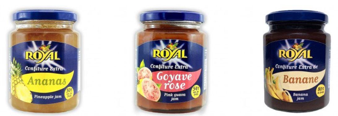 Corps métalliques dans le sucre : Royal rappelle des confitures