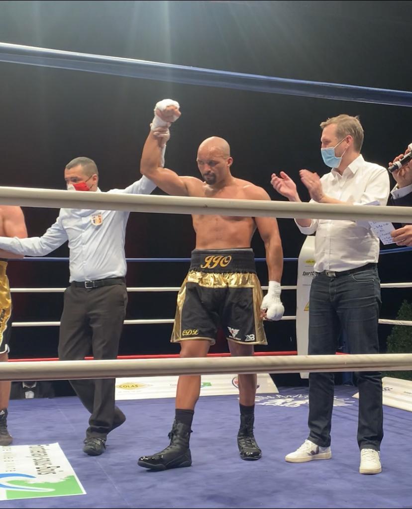 Boxe: retour victorieux sur le ring pour Jean-Jacques Olivier