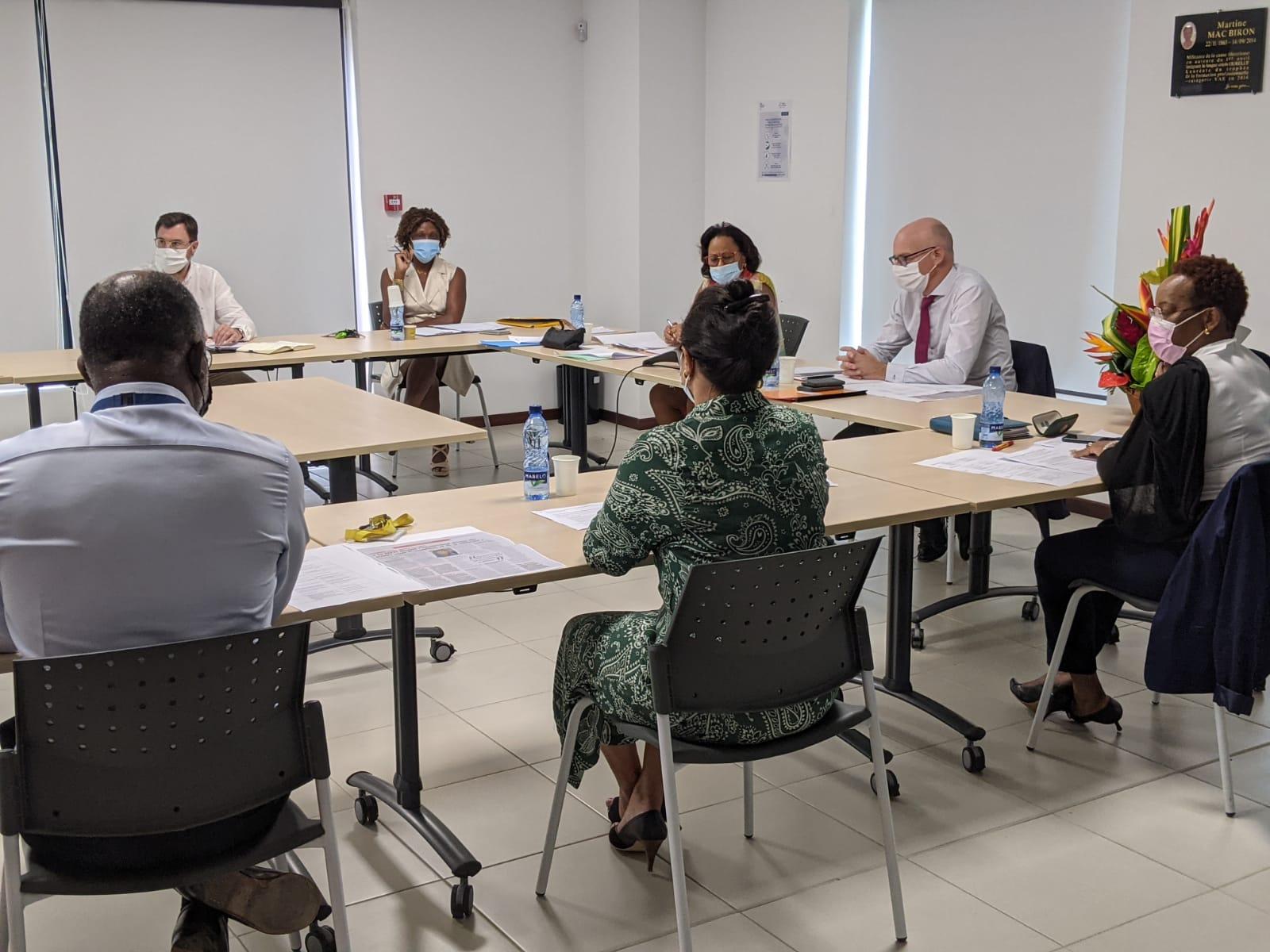 Réorganisation territoriale de l'Etat : création de la DEETS en Martinique