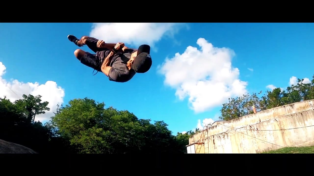 [VIDEO] Des stars du parkour en repérages à la Martinique