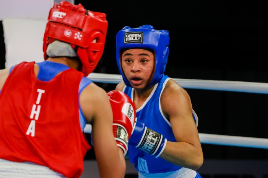 Mondiaux jeune de boxe : l'argent pour Sthélyne Grosy