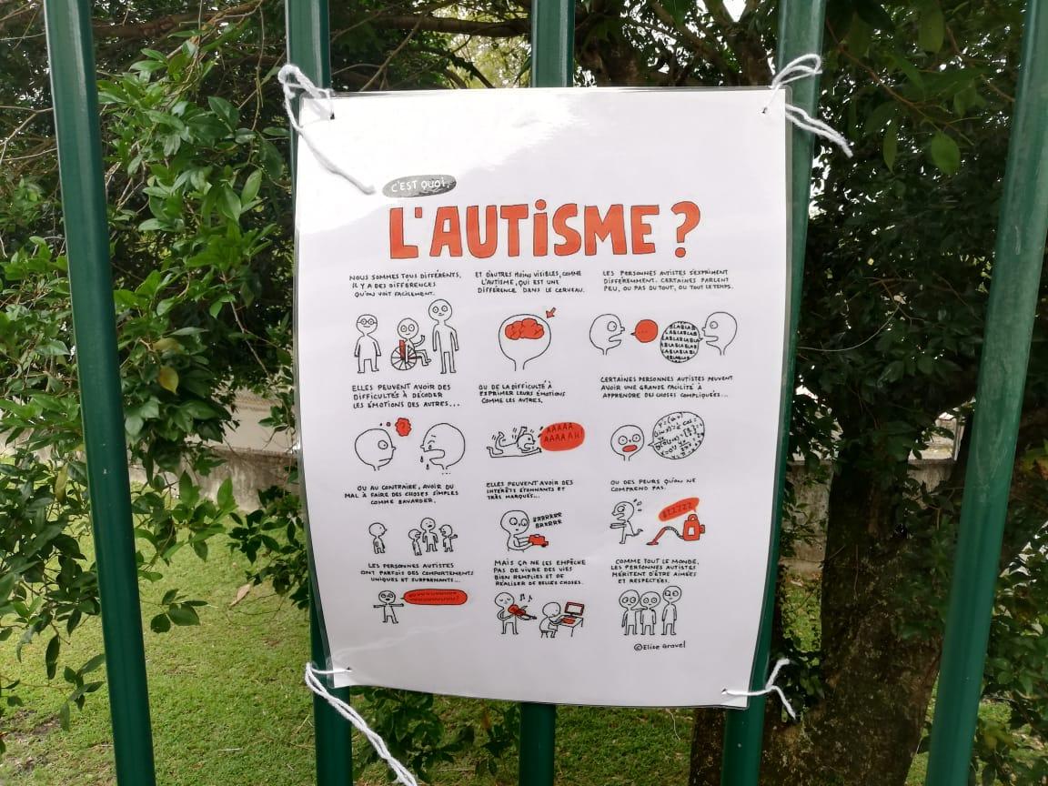 Une table ronde en ligne sur l'autisme en Martinique
