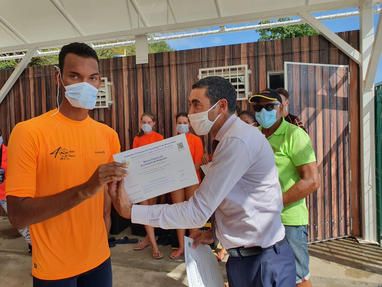Le Centre Départemental de Sauvetage et de Secourisme de la Guadeloupe voit le jour