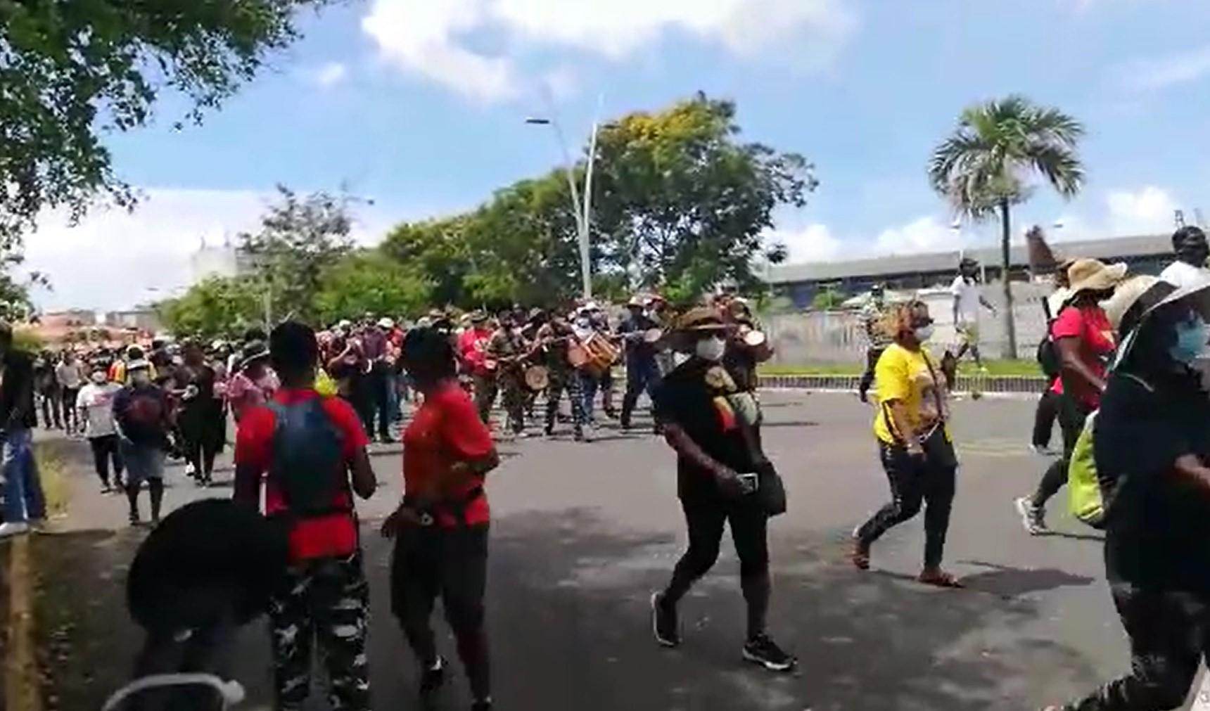 Les organisations syndicales ont défilé pour le 1er mai
