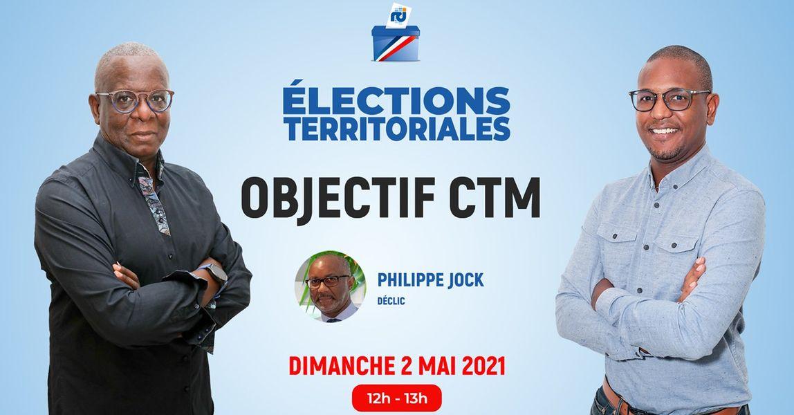 [LIVE] Philippe Jock est l'invité d'Objectif CTM, l'émission politique de RCI