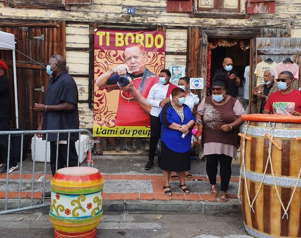 "Basse-Terre rend un dernier hommage à ""Ti Bordo La """