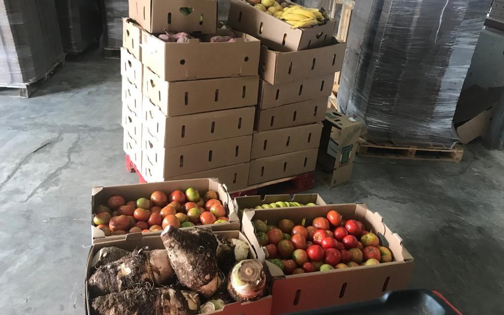 Une distribution de produits frais pour venir en aide aux étudiants