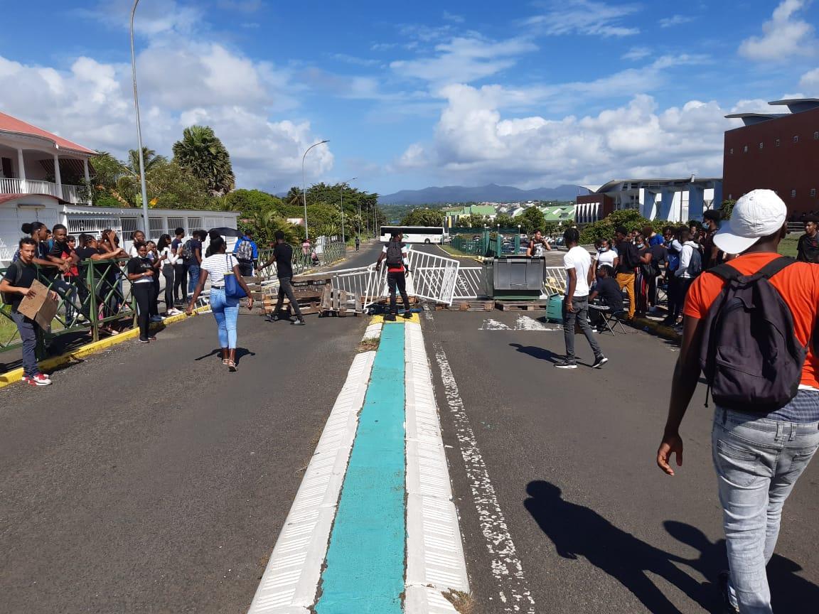 Les lycéens de Guadeloupe ont lancé un appel à la mobilisation