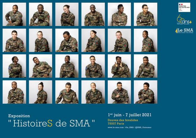 """Exposition """"HistoireS de SMA"""", le Service militaire adapté fête ses soixante ans"""