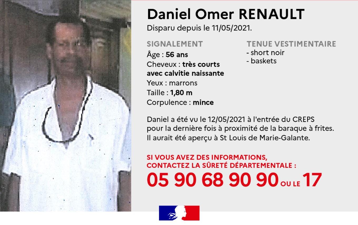 Le corps de Daniel Renault retrouvé sans vie