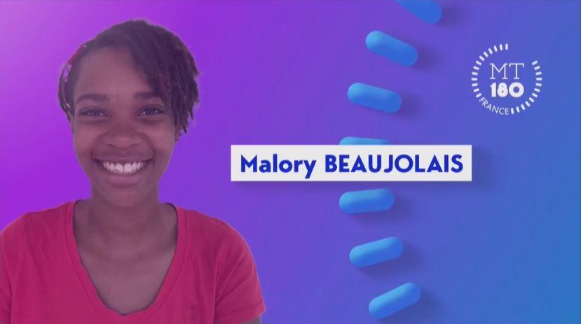 """[Live] Malory Beaujolais participe à la finale de """"Ma thèse en 180 secondes"""""""