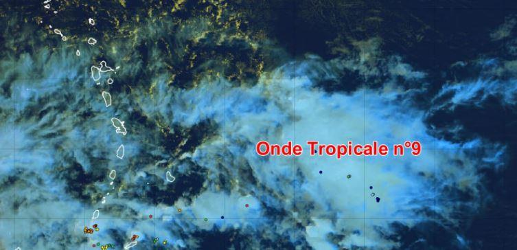 Onde tropicale : quel temps pour les prochaines heures ?