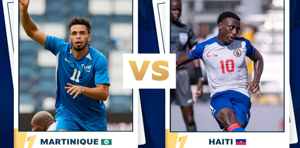 Gold Cup : la Martinique rencontre Haïti cet après-midi