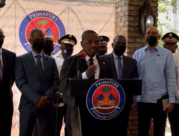 Haïti : Claude Joseph écarte les accusations de la presse colombienne