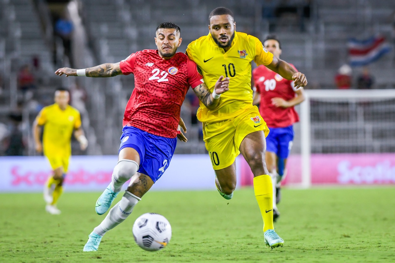 Gold Cup : les Gwada Boys s'inclinent face au Costa-Rica