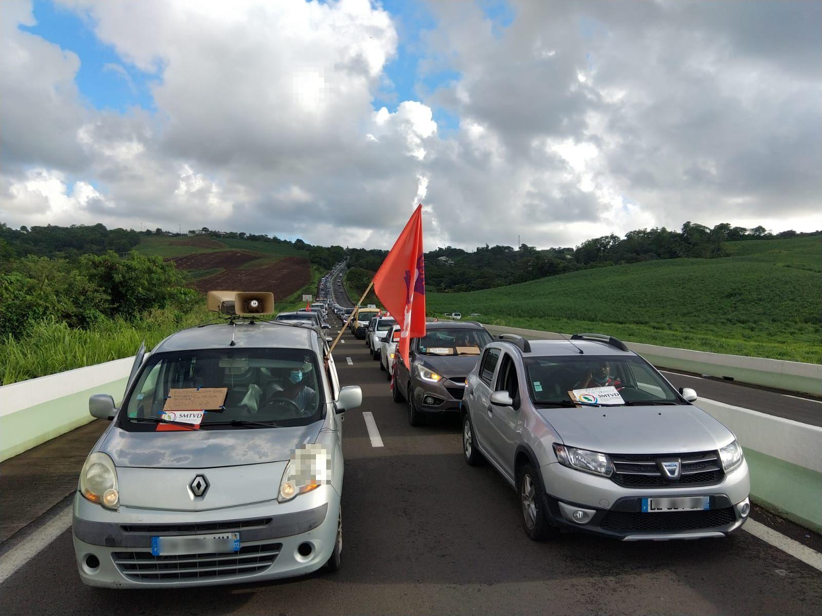 SMTVD : l'USAM en opération molokoy sur les routes de Martinique