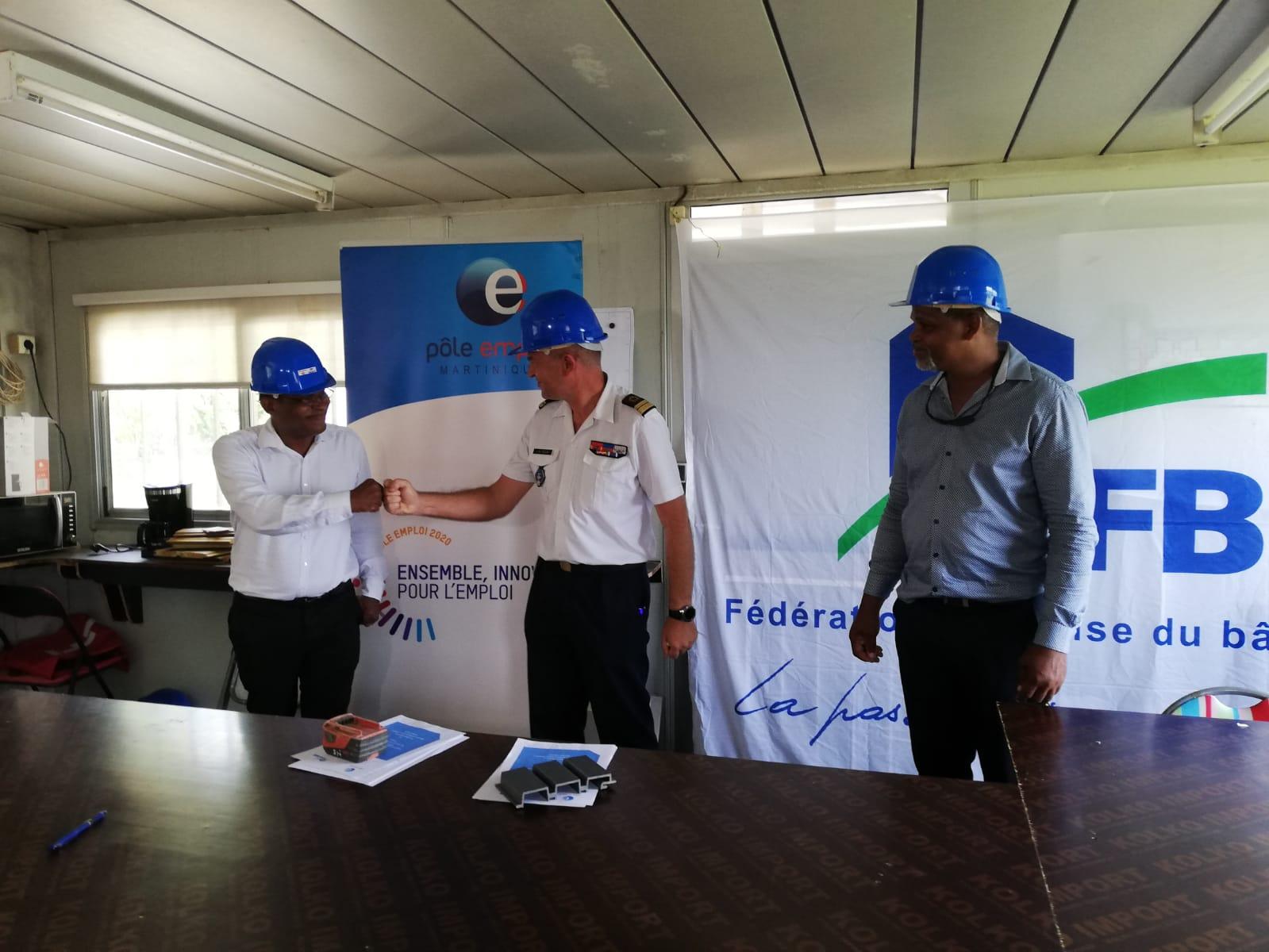 Le secteur du BTP cherche à recruter : signature d'un partenariat avec Pôle Emploi