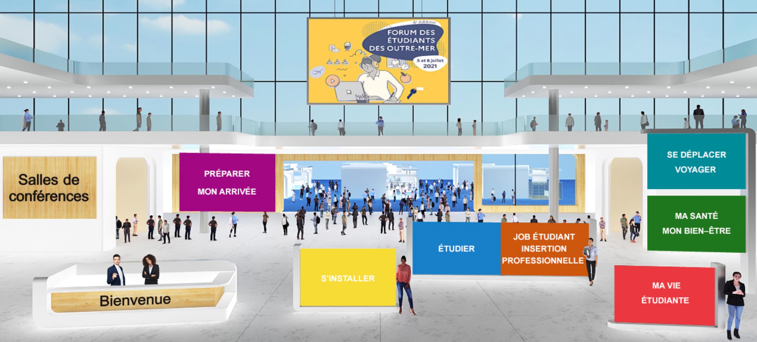 Forum des étudiants des Outre-mer : une 4ème édition 100% digitale