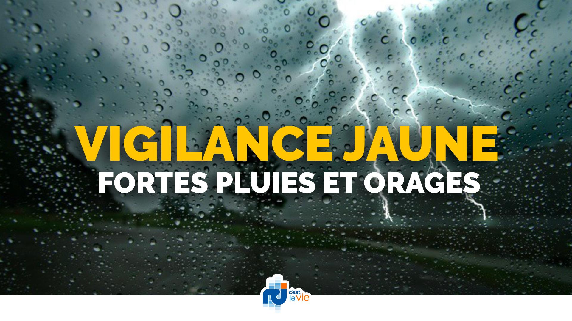 Une onde tropicale active concerne la Martinique qui passe en vigilance jaune