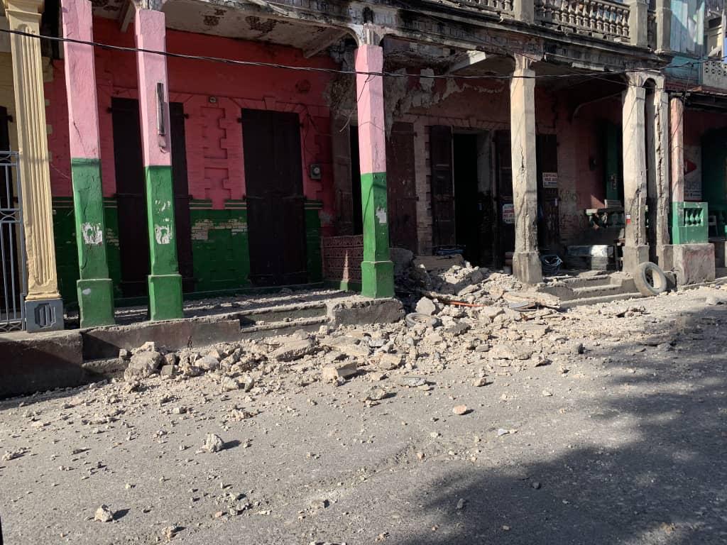 Un séisme de magnitude 7.2 à Haïti