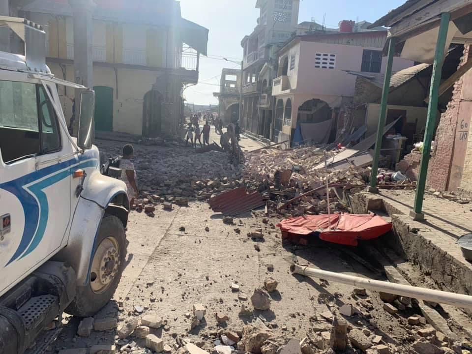Les actions d'aide envers Haïti se poursuivent