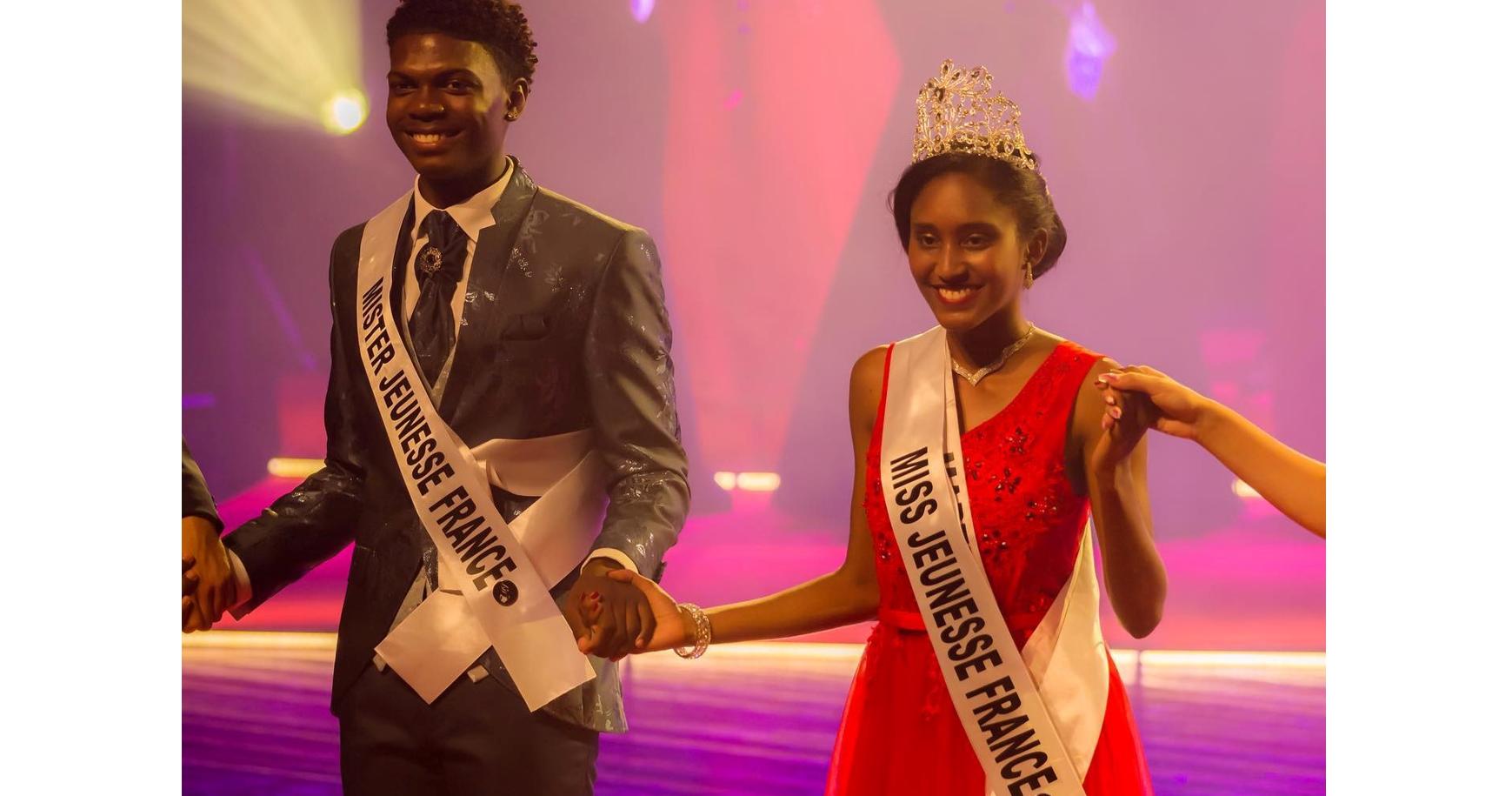 Deux jeunes Martiniquais élus Miss et Mister Jeunesse France 2021