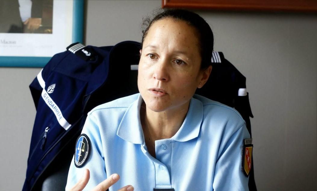 Une nouvelle commandante de Gendarmerie à Pointe-à-Pitre