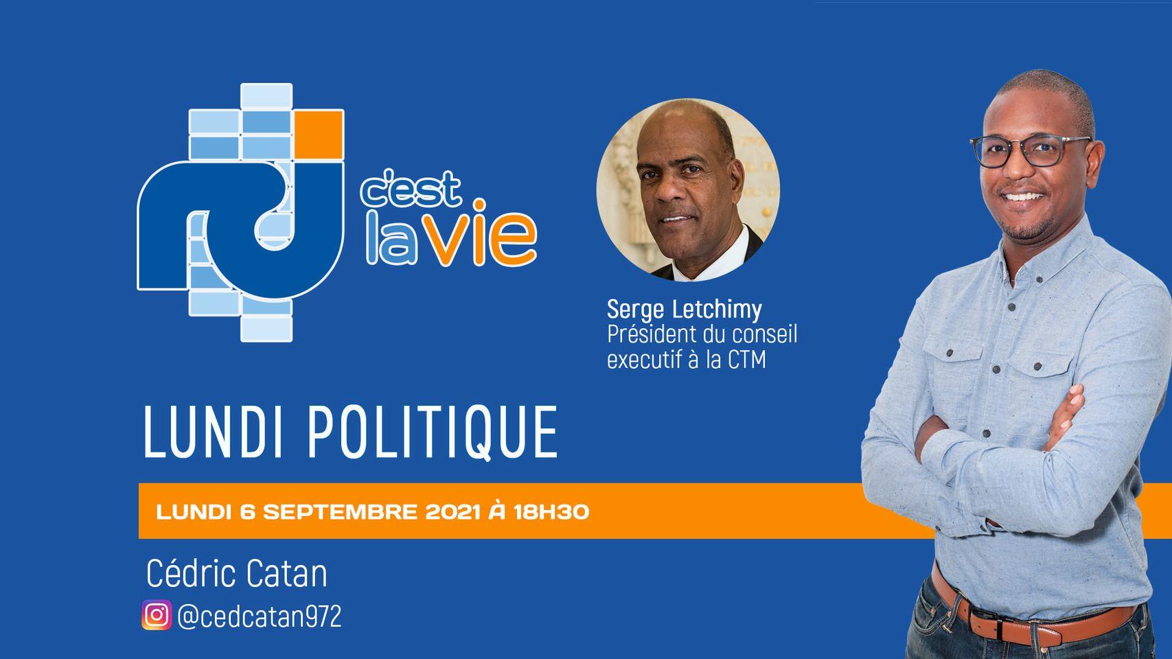 [VIDÉO] Serge Letchimy est l'invité de Cédric Catan dans Lundi Politique