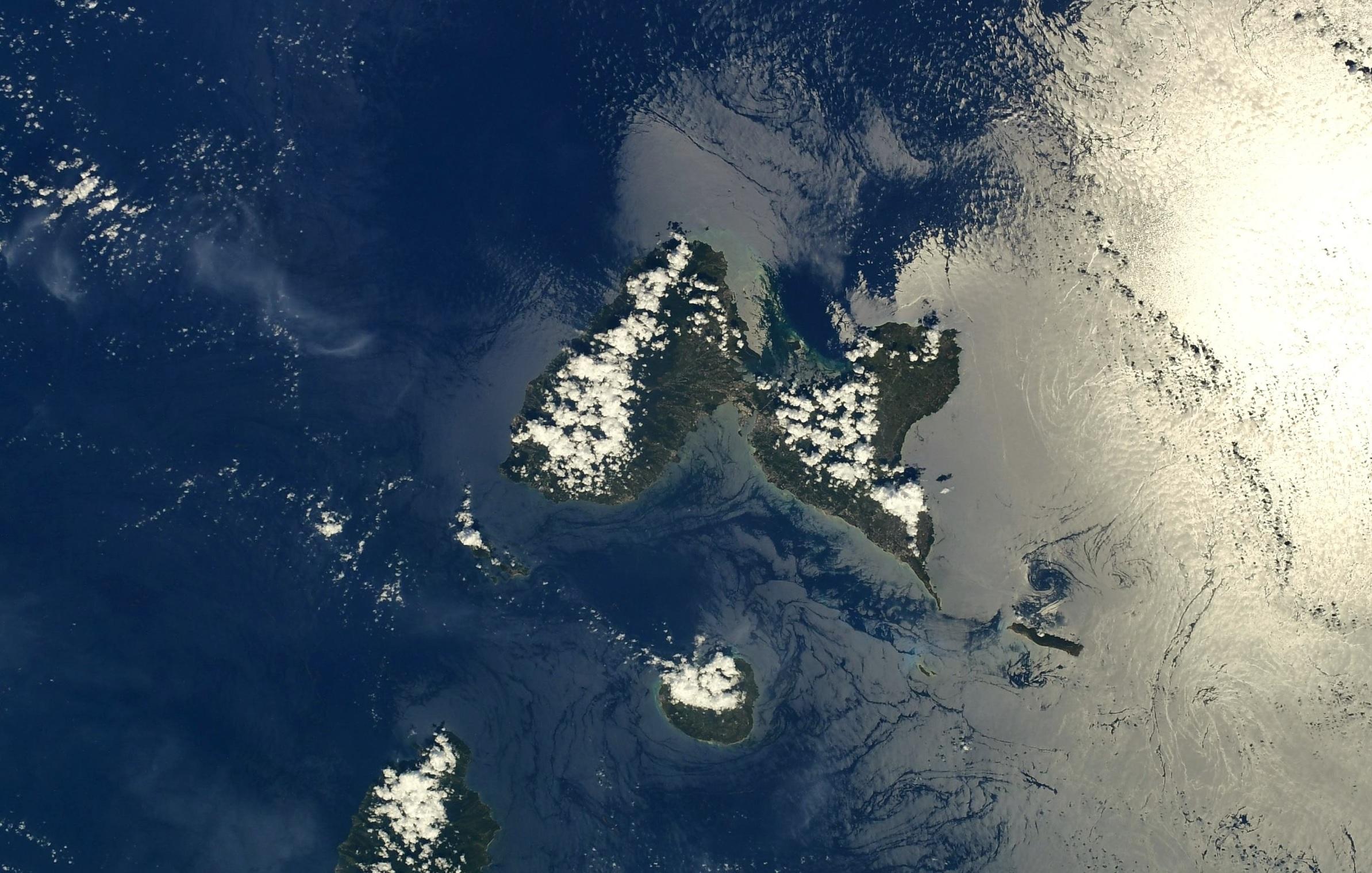 Thomas Pesquet s'émerveille au dessus de la Guadeloupe