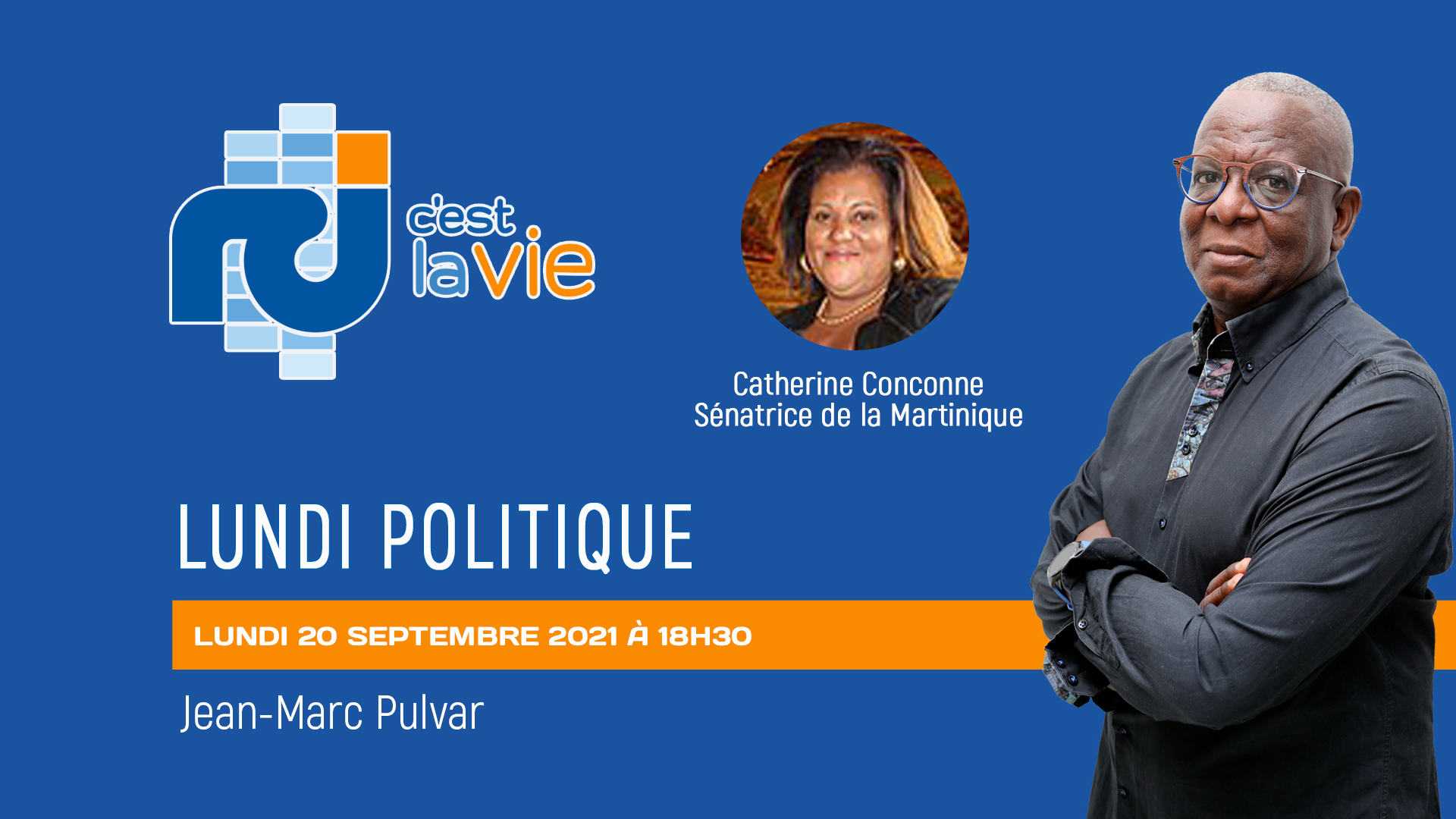 [LIVE] Catherine Conconne est l'invitée de Lundi Politique
