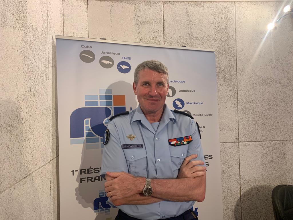 William Vaquette, commandant de la gendarmerie de la Martinique, est l'invité de la rédaction