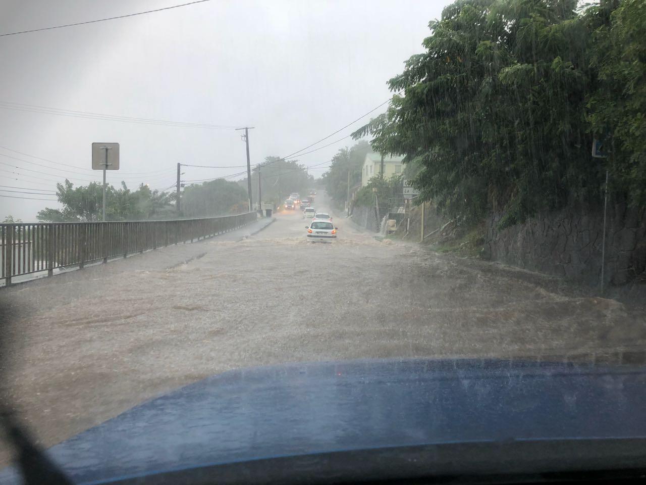 Inondations Schoelcher