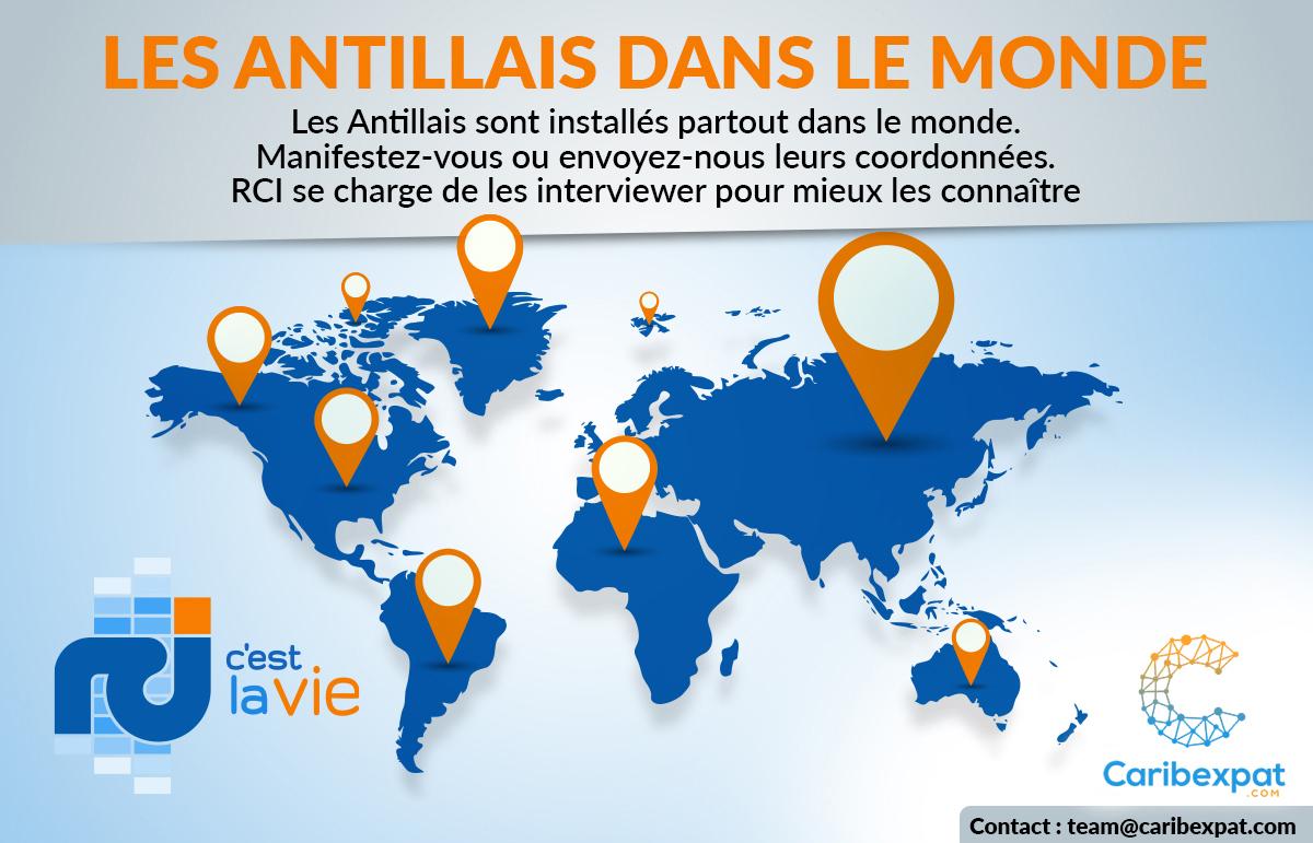 Les Antillais dans le monde