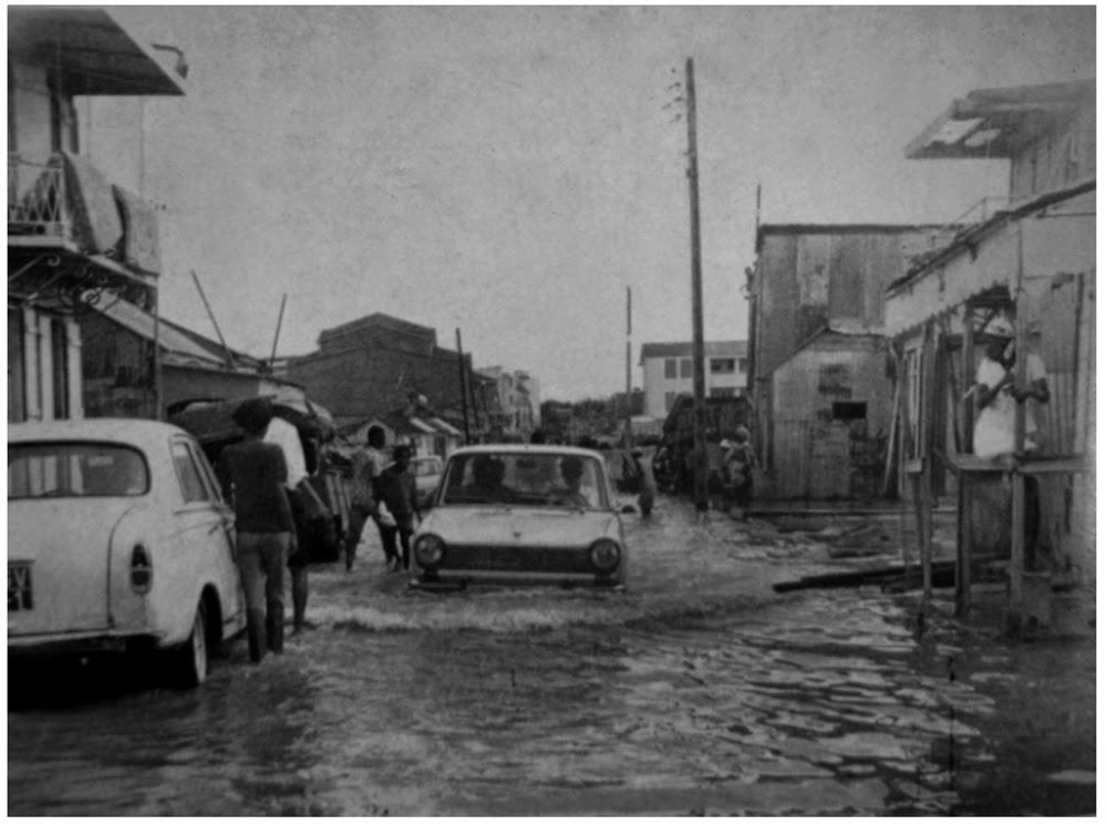 Pointe à Pitre Inondée