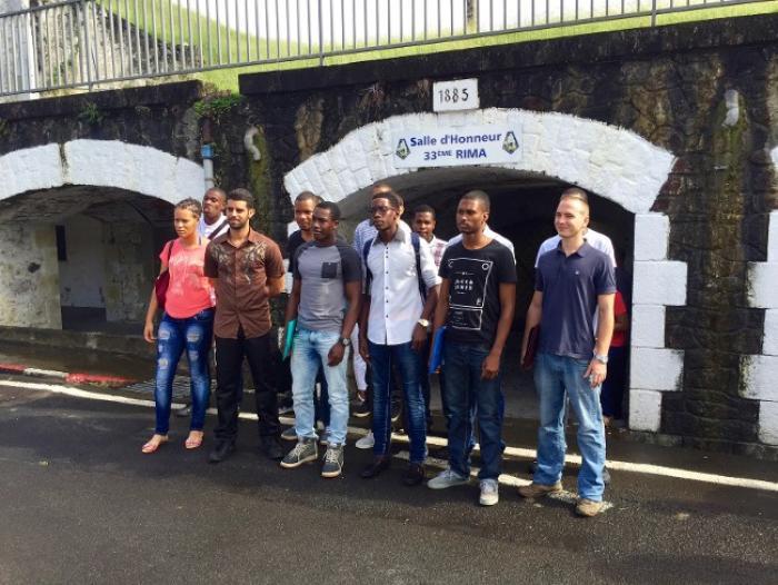 14 Martiniquais s'engagent dans les Forces Armées