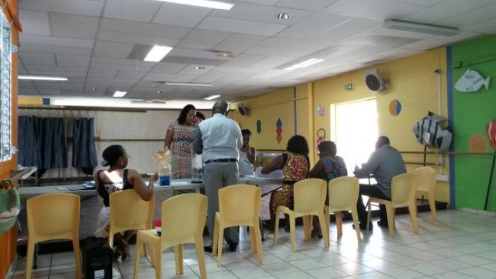 15,5% des électeurs guadeloupéens se sont rendus aux urnes