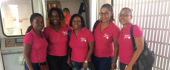 5 Martiniquaises en Guyane pour un raid VTT