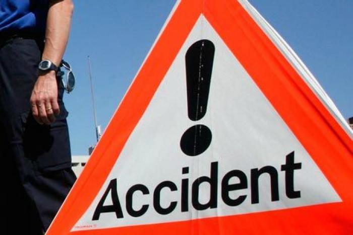 Accident à la sortie de Moudong Jarry