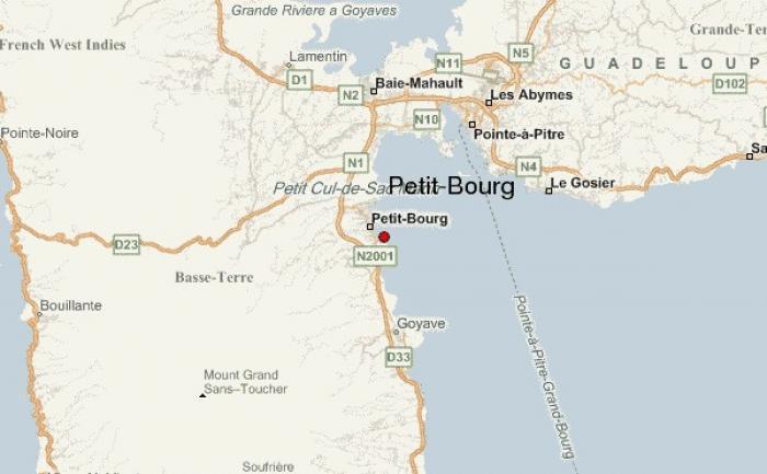 Accident à Petit-Bourg