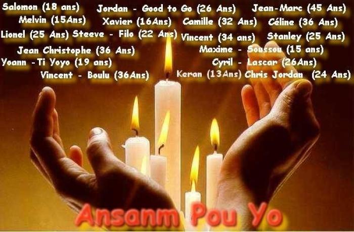 Ansanm pou yo : une marche pour ceux qui sont partis trop tôt