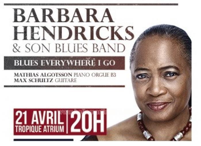 Barbara Hendricks en concert à l'Atrium !