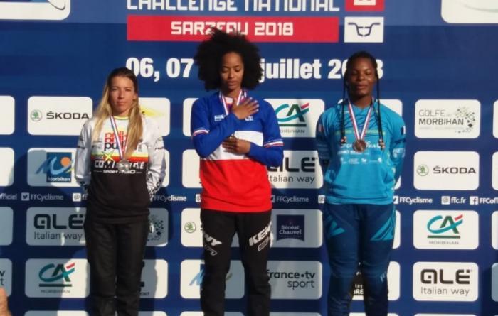 BMX : Manon Valentino championne de France