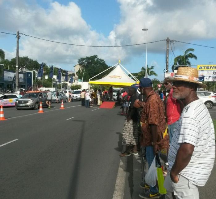 Changement de leader sur le tour cycliste de la Guadeloupe