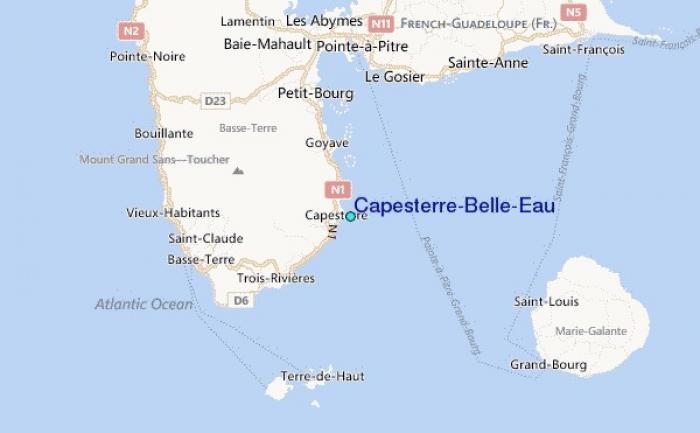 Circulation rétablie à Capesterre-Belle-Eau